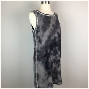 Forever 21 Dresses - Forever 21 Tye Dye Sequenced Grey Dress